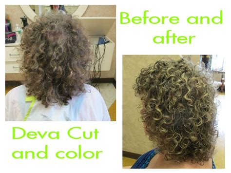 is deva cut hair uneven in back deva curl cut and color before and after wishful hair