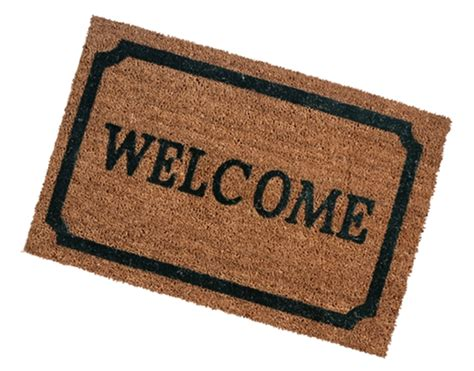 Welcome Rug by Welcome Mats Giving Water
