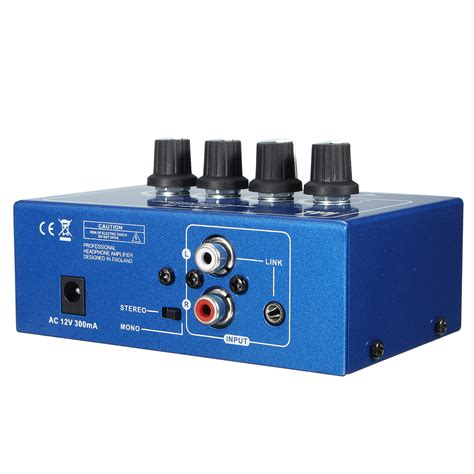 Power Lifier Tasso I4 I4 Mini Professional Portable 4 Channel Headphone Audio Stereo Lifier Mixer Alex Nld