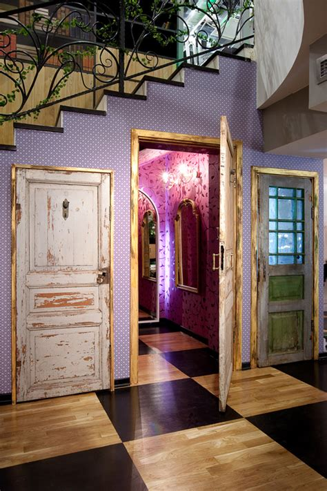 alice in wonderland inspired bedroom apartment store in moscow inspired by alice in wonderland