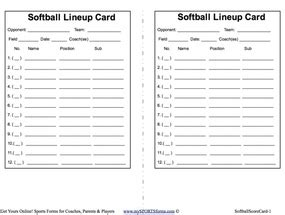 Softball Player Card Template by 26 Images Of Fastpitch Softball Roster Template Canbum Net
