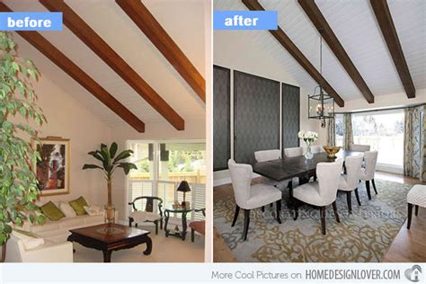 before and after home makeovers 15 before and after pictures of dining room makeovers