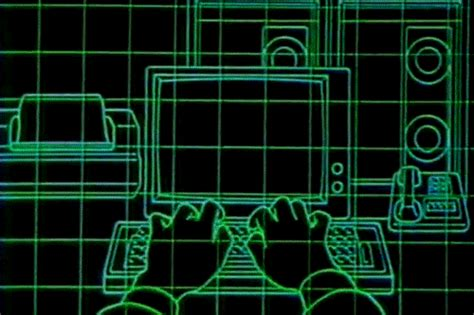 technology gifts images 80s computer gif find on giphy