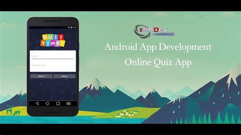 android studio quiz tutorial android studio tutorial online quiz app part 1 sign in
