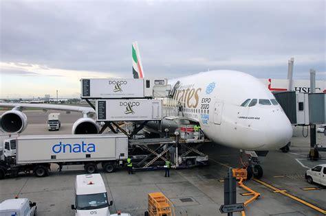 emirates london to dubai emirates airbus a380 lhr dxb economy youtube
