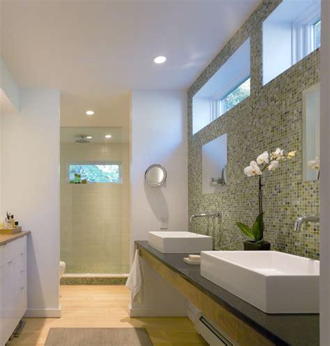 L Shaped Bath Shower modern farm house farmhouse bathroom burlington by