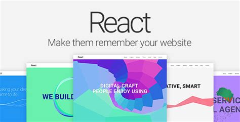 themeforest react react material design multipurpose template by pimmey