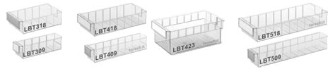piccoli contenitori in plastica per alimenti contenitori in plastica trasparente per scaffali serie lbt