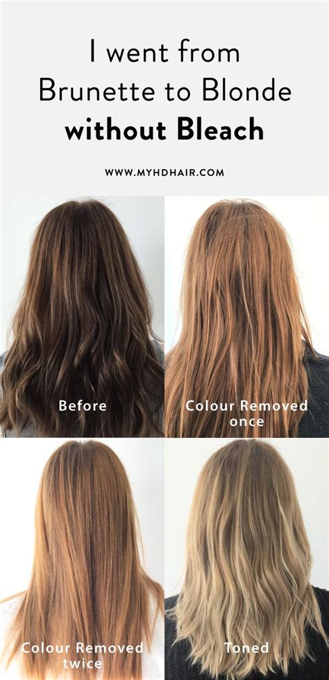 blonde hair colours without bleach 186 best hair 101 images on pinterest blondes brunettes