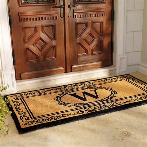 Frontgate Doormats - hudson monogrammed door mat 36 quot x 72 quot contemporary