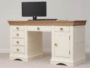 Computer Desk Uk Country Cottage Painted Funiture Home Office Oak