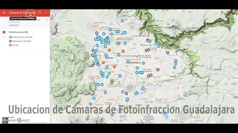 donde checo las fotomultas ubicacion de las camaras de fotoinfraccion en guadalajara