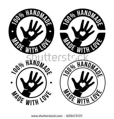 Handmade In - handmade stock images royalty free images vectors