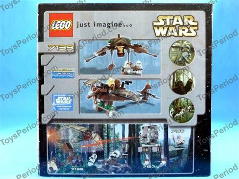 Lego 7139 Wars Ewok Attack lego 7139 ewok attack classic wars ewoks set 2002 new