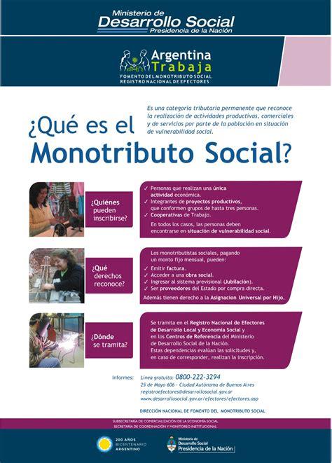 monotributo social 2016 como hacer el tramite monotributo requisitos para ser monotributista social l immagine