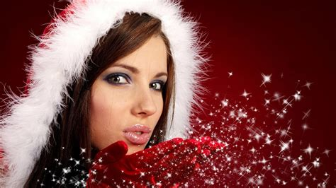 hot christmas girls hd babes wallpaper free download pixhome