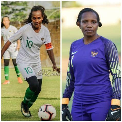 pemain sepakbola putri asal biak jadi kapten  timnas
