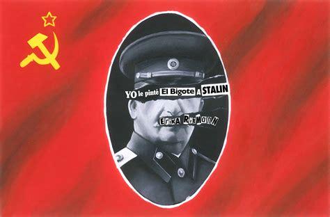 le pondremos un bigote 8498259703 blog de librer 237 a praga yo le pint 233 el bigote a stalin erika riemann