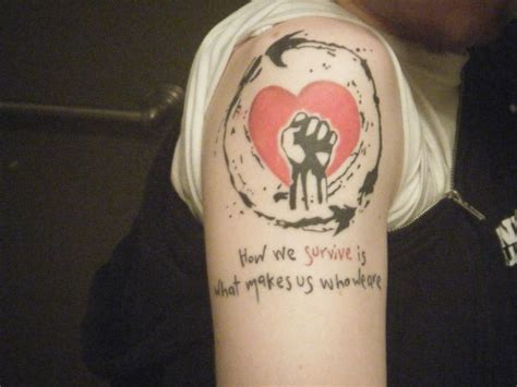 rise against tattoo ideas pinterest band tattoo and