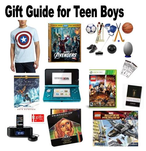 gifts for teen guys when
