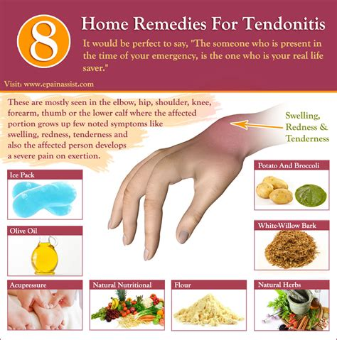 8 home remedies for tendonitis white willow bark potato