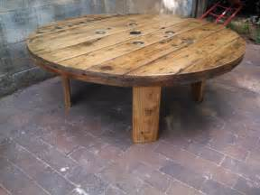 Spool Coffee Table For Sale Corning Industrial Cable Spool Coffee Table
