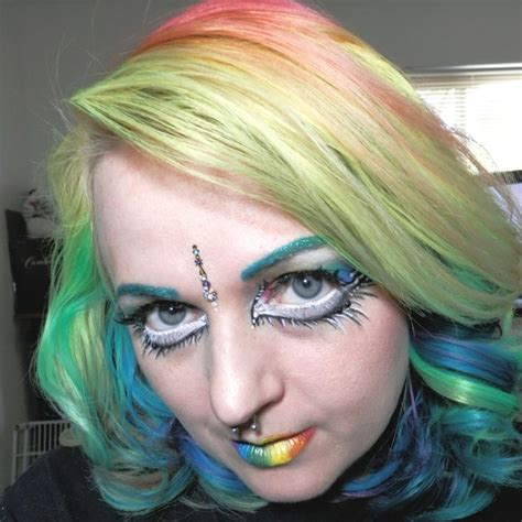 Gliiter Rainbow Ukuran 196 1128 196 best images about hair makeup nails on blue hair colorful makeup and