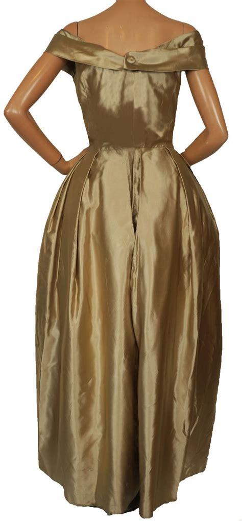 vintage couturier 40s gusmaroli evening gown