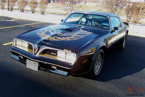 Pontiac Trans Am T Top by 1978 Pontiac Trans Am T Tops Starlight Black Only 17k