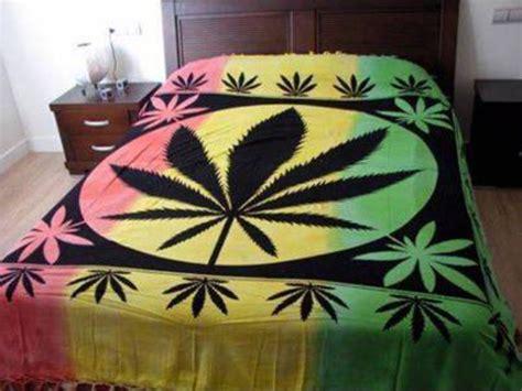 bob marley bedding bag blanket smoke snoker rasta bud pot bedding
