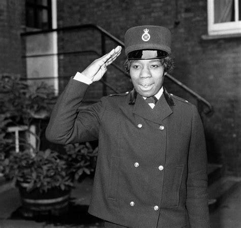first female police officer visit and meet britain s first black policewoman second