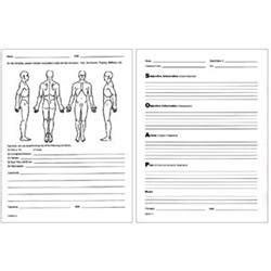 soap notes patient client visit forms for sale pack of 100