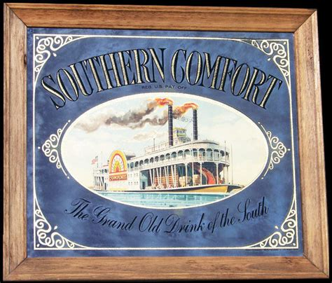 southern comfort bar southern comfort large vintage riverboat bar mirror