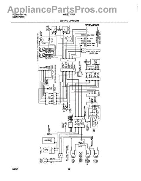 parts for white westinghouse wrs23w0aq3 wiring diagram