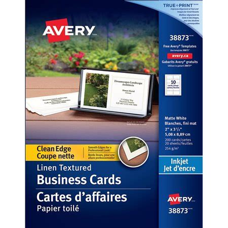 avery clean edge business cards template clean edge business cards