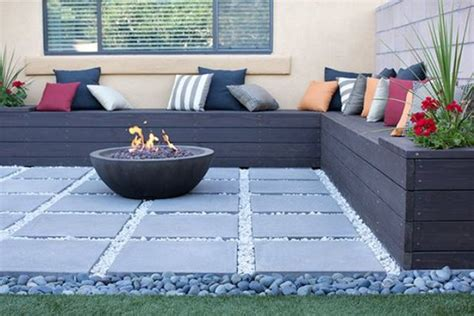 home depot yard design 27 comfy l shaped benches for outdoors digsdigs