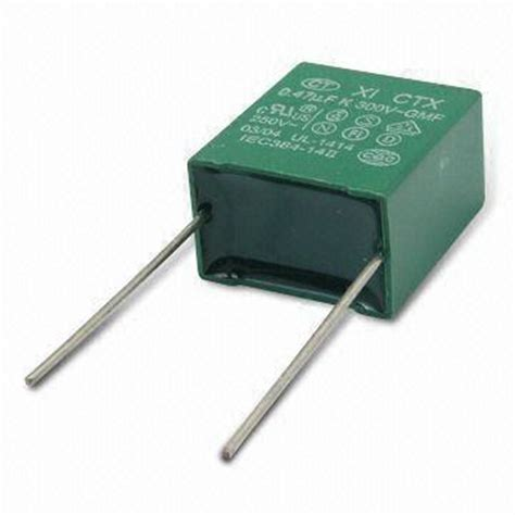 polyester box type capacitor taiwan metallized polyester capacitor in box type with high moisture resistance on global