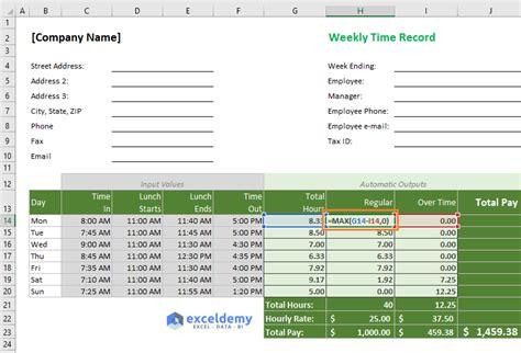 spreadsheet calculator app fresh work hours timesheet etame mibawa