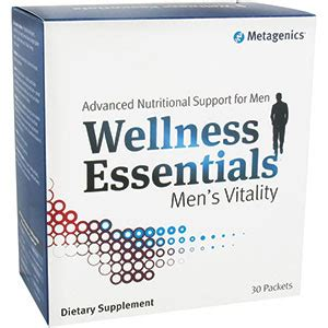 Wellness Tribulus Stack 30 by Metagenics Wellness Essentials 174 S Vitality 30 Packets