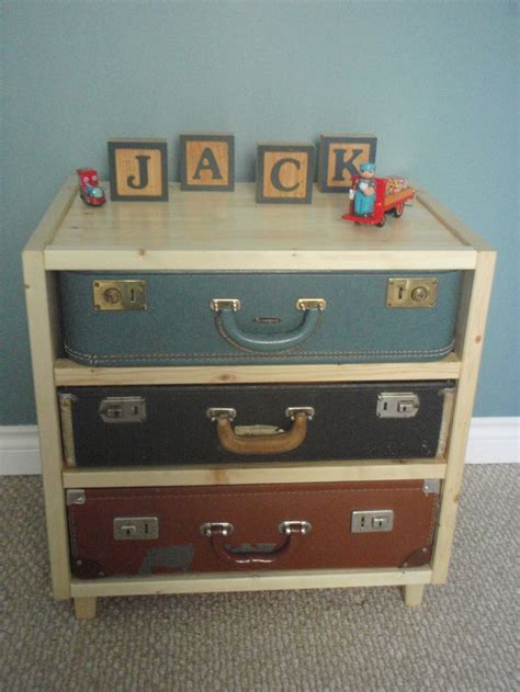 suitcase dresser pin by connie h on for the home pinterest