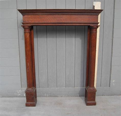 Fireplace Mantels Decor by Antique Fireplace Mantel Decor All Home Decorations