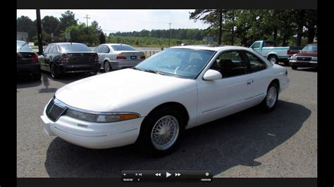 how it works cars 1995 lincoln mark viii free book repair manuals 1995 lincoln mark viii start up exhaust and in depth review youtube