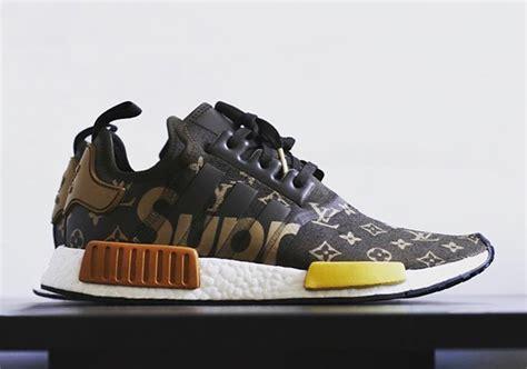 Adidas Nmd Lv X Supreme supreme louis vuitton adidas nmd custom sneakernews