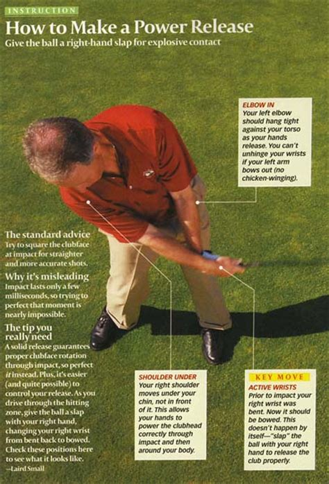 Hand Release Actions Through The Impact Zone