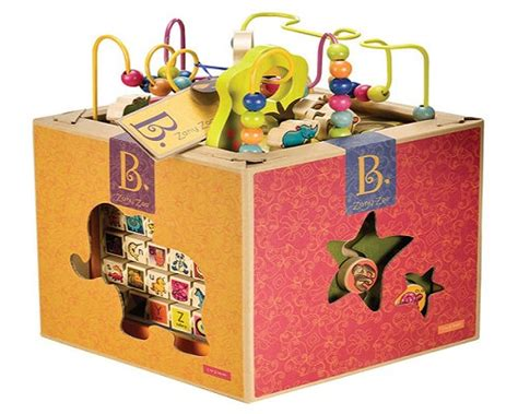 Zany Kitchen by B Zany Zoo Wooden Activity Cube Review Product Reviews