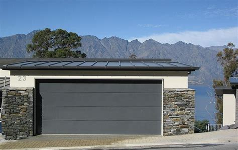 contemporary flush panel garage doors google search