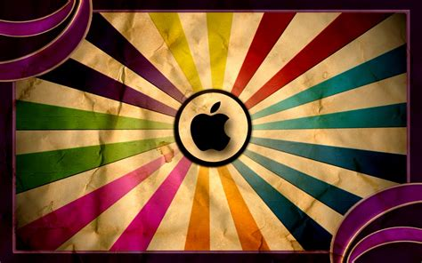 colorful vintage wallpaper apple vintage laptop colorful background wallpapers