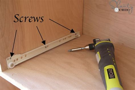 How To Install A Drawer Slide by How To Install Drawer Slides Home Sweet Home