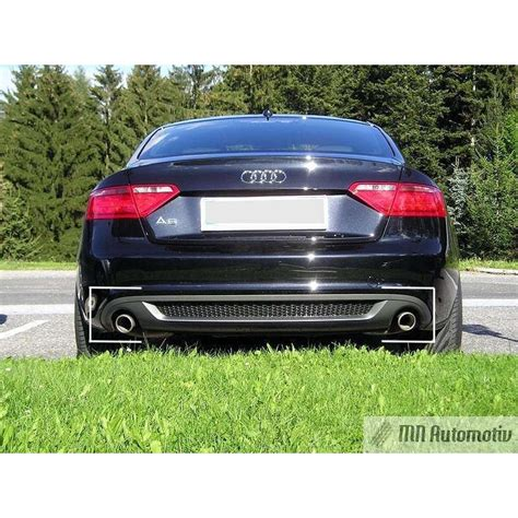 diffuseur arriere audi a5 07 11 coupe s line 1 1 mn
