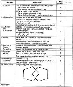 Mini mental exam form related keywords amp suggestions mini mental